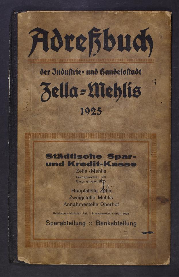 ADR_Adressbuecher_Zella_Mehlis_1925_0001.tif