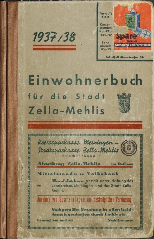 ADR_Adressbuecher_Zella_Mehlis_1937_1938_0001.tif