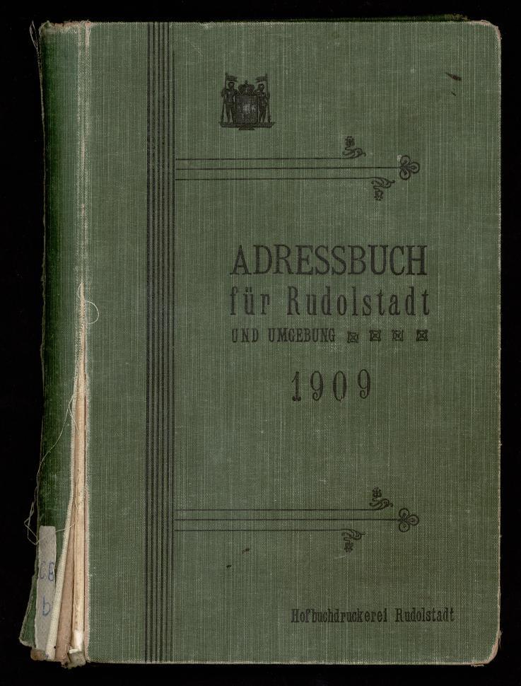 Fremdbestand_StA_Rudolstadt_ADR_Rudolstadt_1909_PPN_242899307_0001.tif